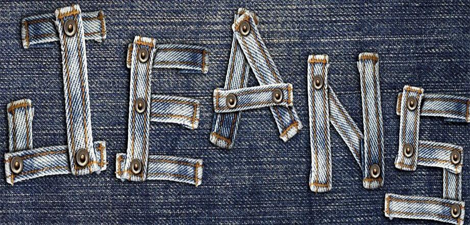 Поздравительные открытки, картинка с надписью джинсовая вечеринка