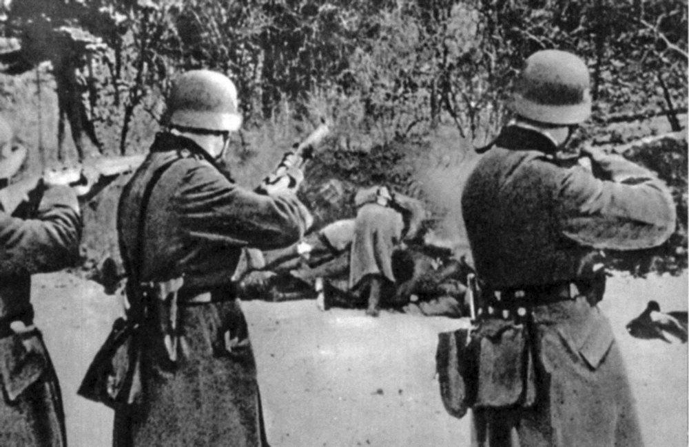 Жители Фашистской Германии глазами Советских солдат ...