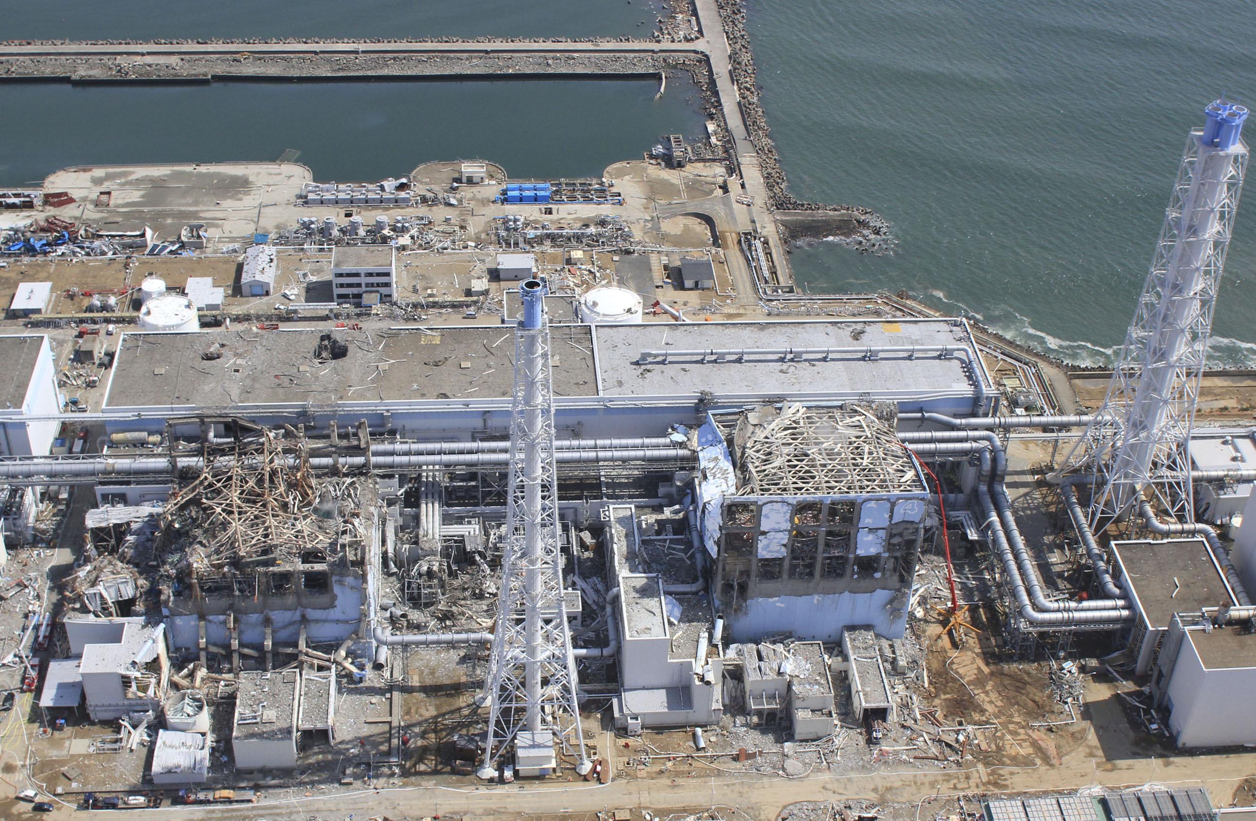 На АЭС «Фукусима-1» обнаружены масштабные повреждения фильтров радиоактивной воды