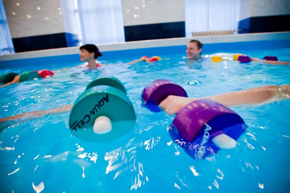 Можно похудеть в бассейне