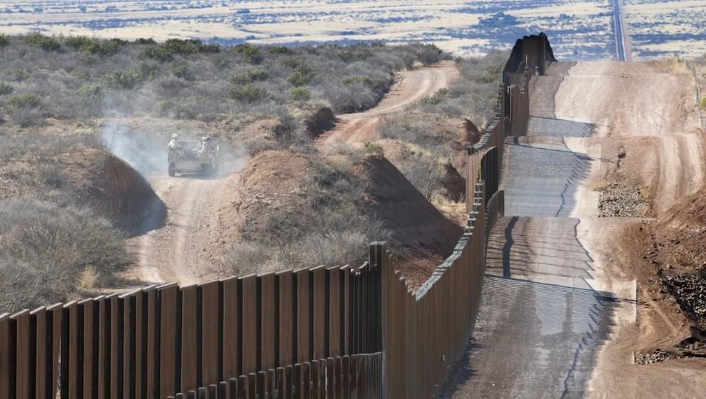 """The Hill: конгресс США согласился частично оплатить мексиканскую """"стену Трампа"""", чтобы избежать нового шатдауна"""