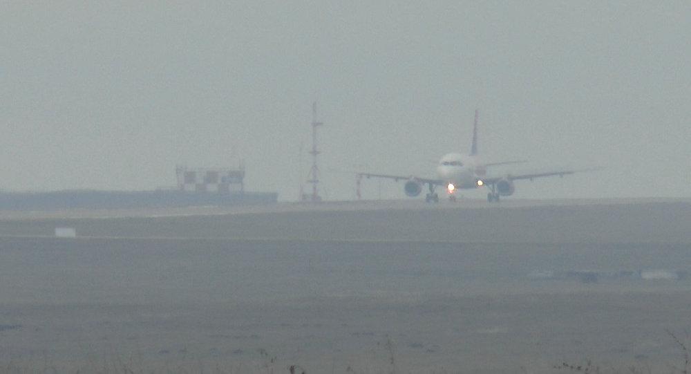 Самолет рейса Москва-Кишинев вынужденно сел вОдессе из-за тумана