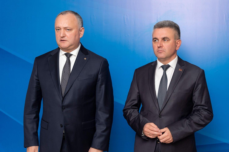 Лидеры Молдовы и Приднестровья