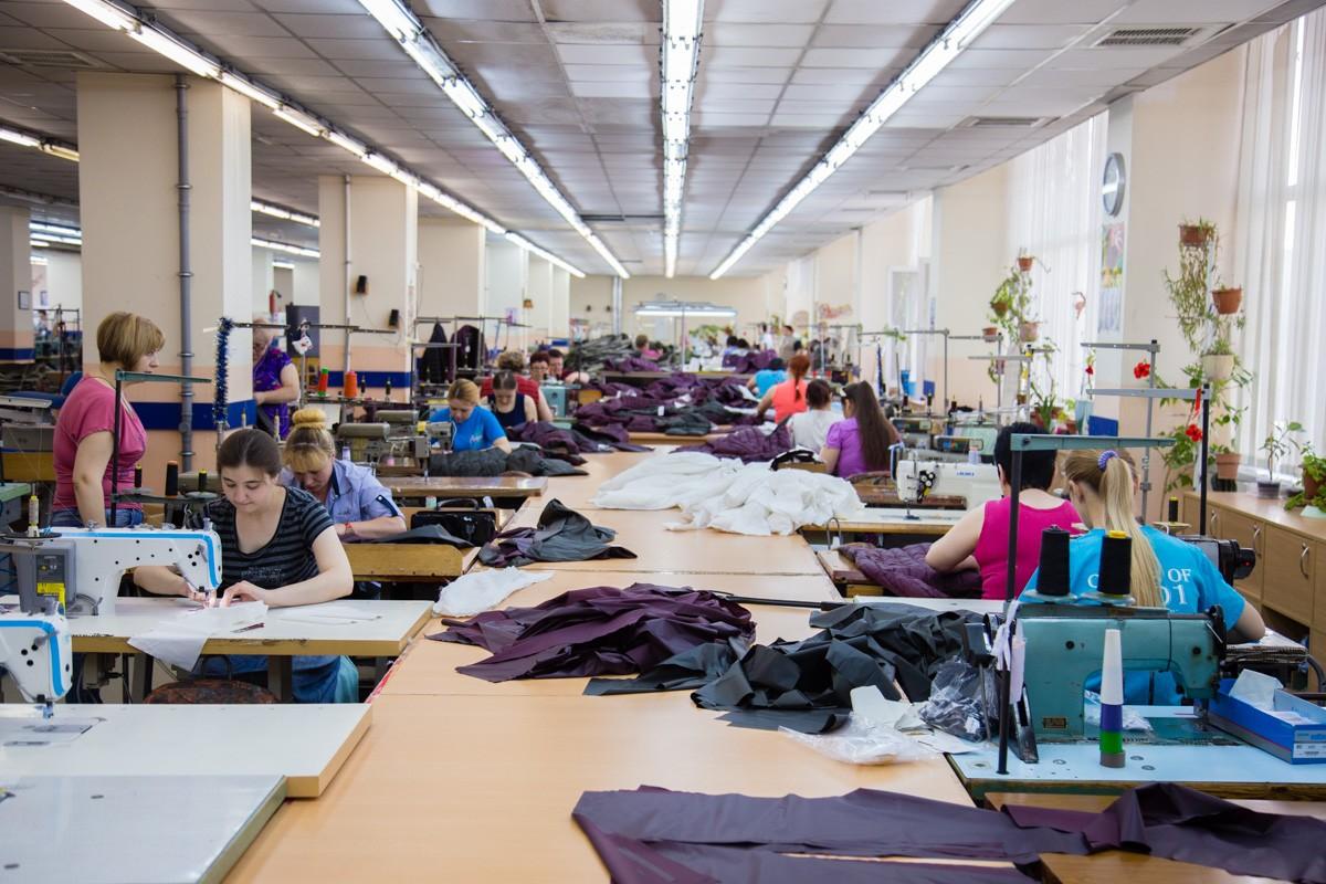Швейная фабрика в Тирасполе