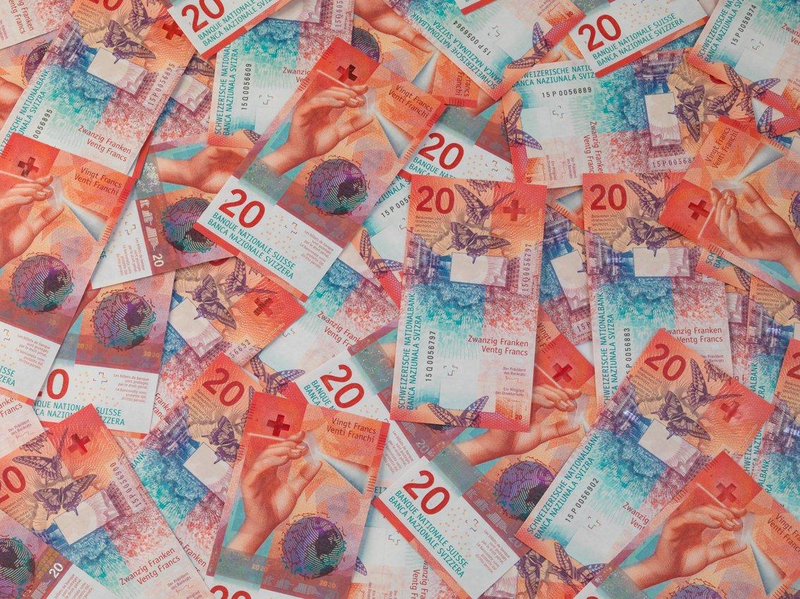 В Швейцарии представили новую купюру в 20 франков с изображением бабочек bf595bf77f7