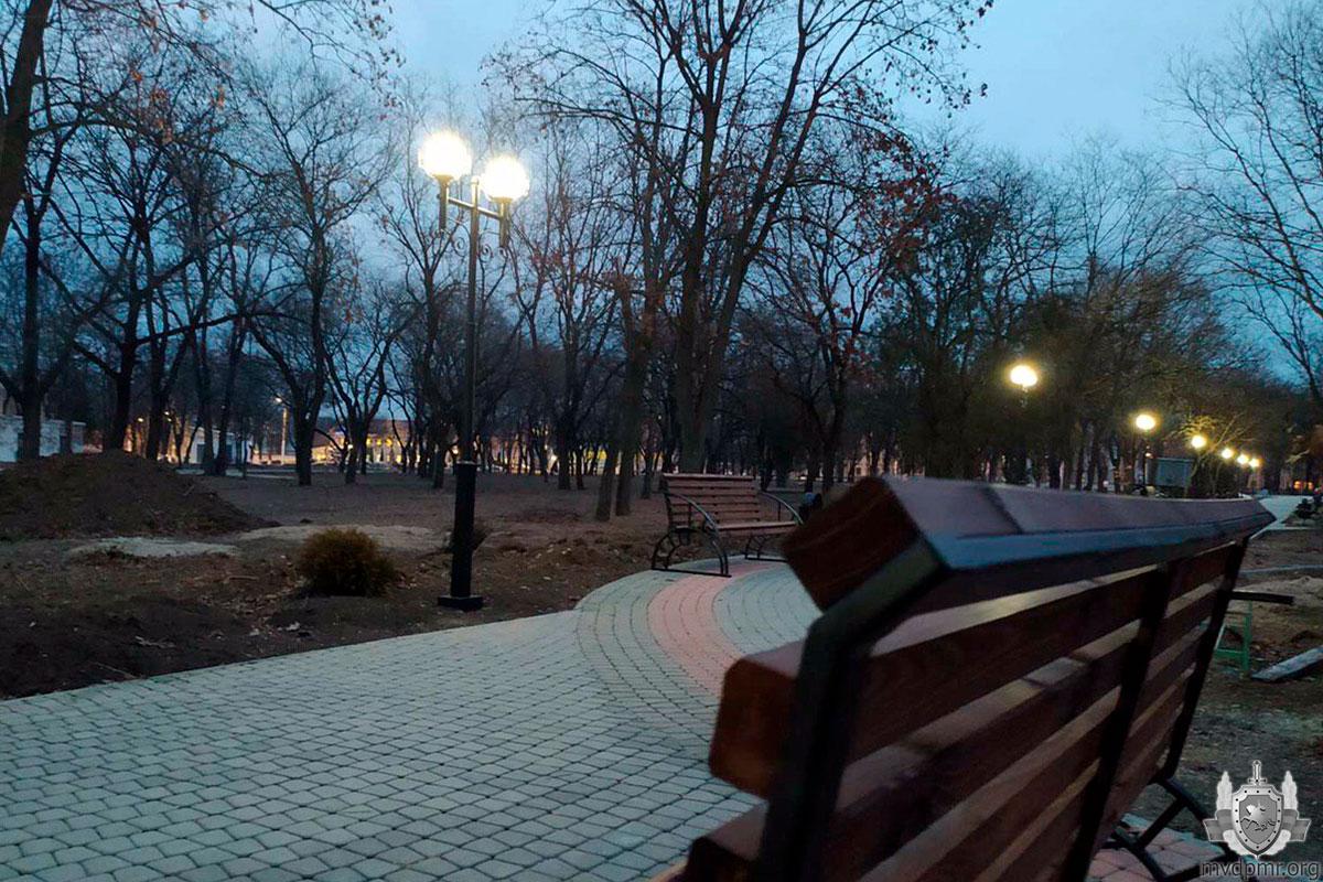 Покровский парк в Тирасполе