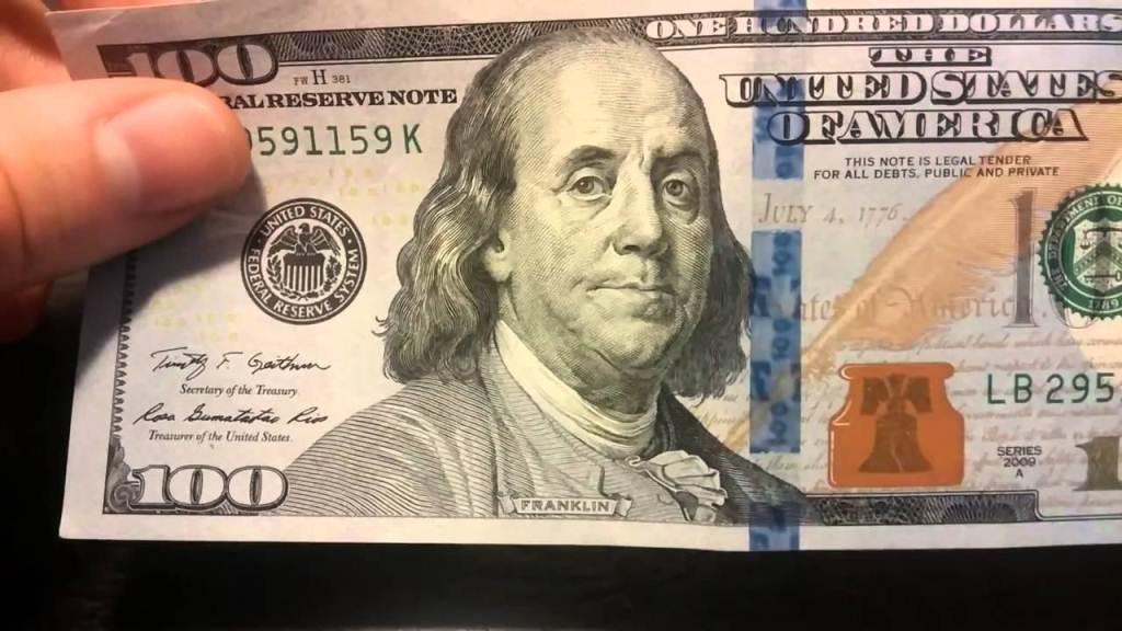 Настоящие доллары от фальшивых фото
