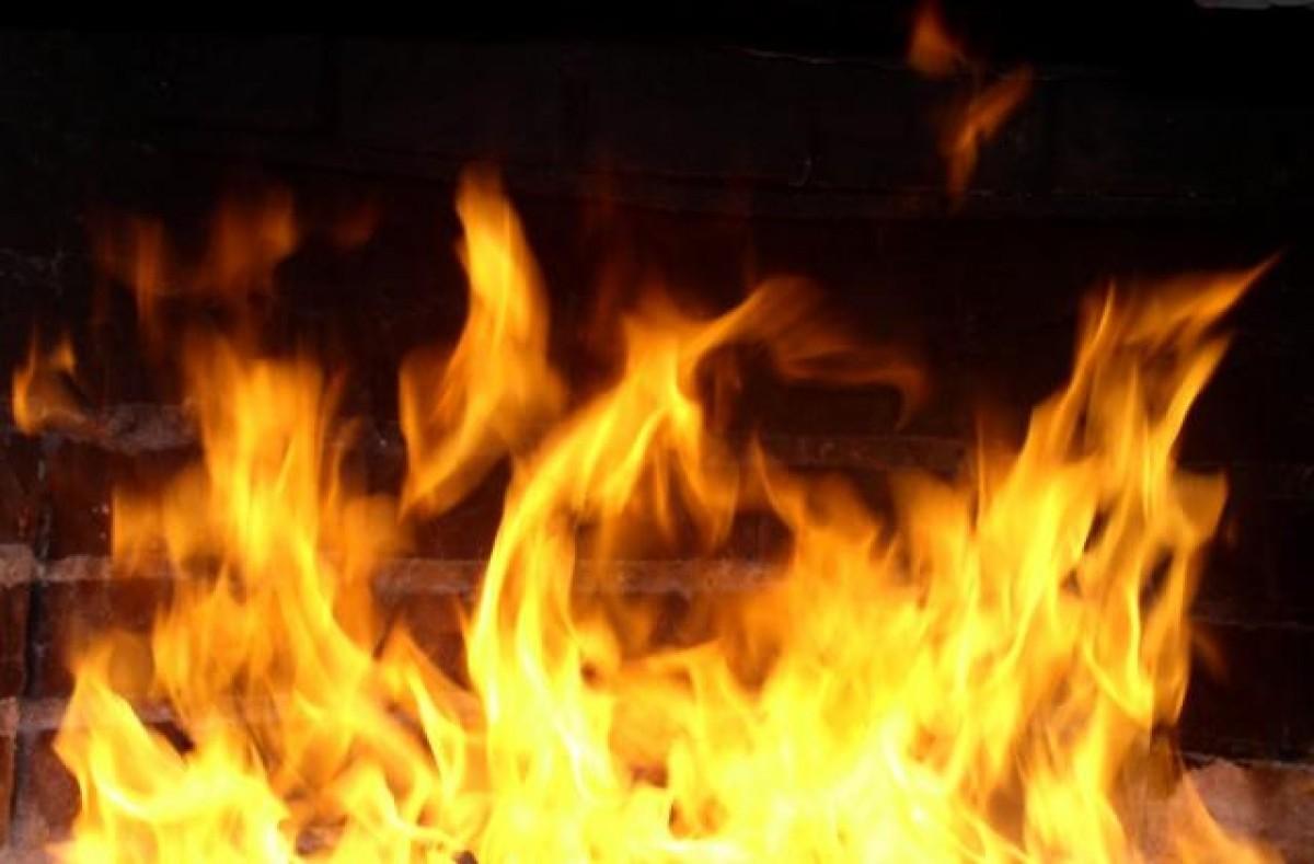В Курской области при пожаре погиб мужчина