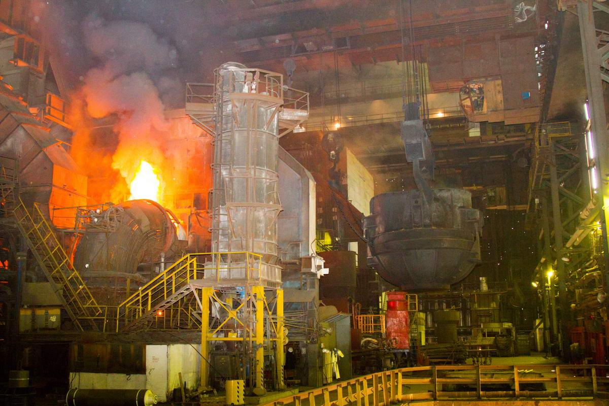 Металлургический завод в Приднестровье