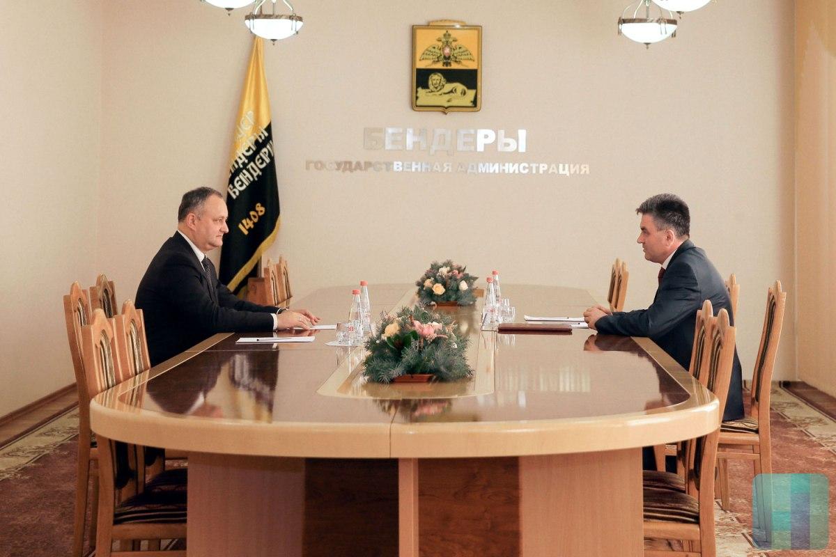 Впервый раз за8 лет состоялась встреча президента Молдовы слидером «ПМР»