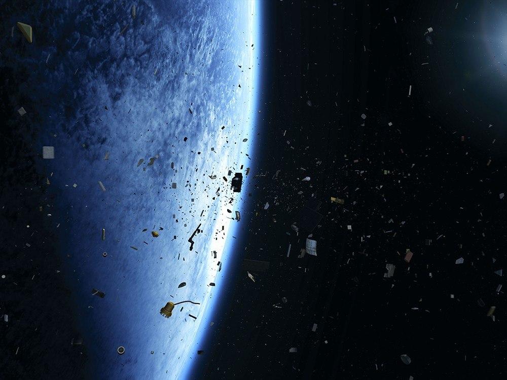 NASA назвало РФ  лидером позагрязнению околоземной орбиты