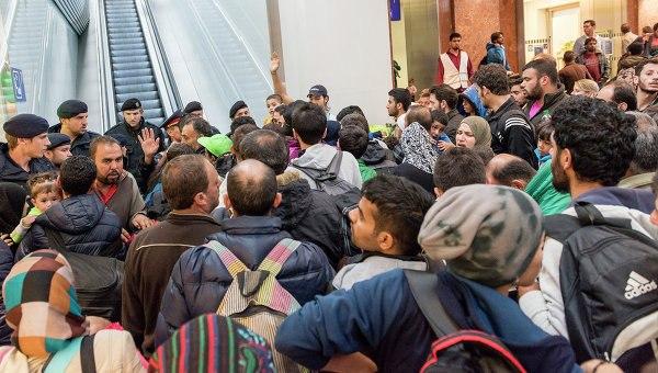 Всистеме первичной регистрации беженцев отметилось неменее 1 млн— МВД ФРГ