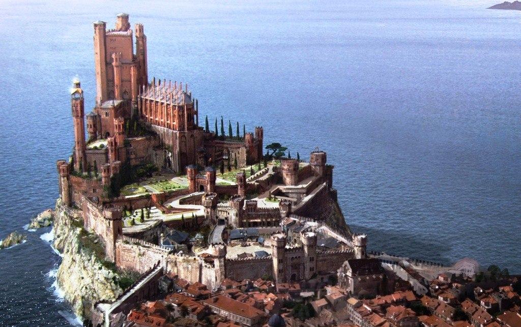 В России на принтере напечатают замок из 'Игры престолов'