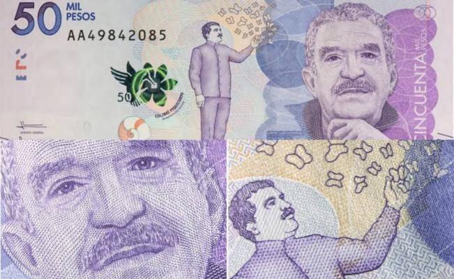 ВКолумбии введена вобращение банкнота спортретом Габриэля Гарсиа Маркеса