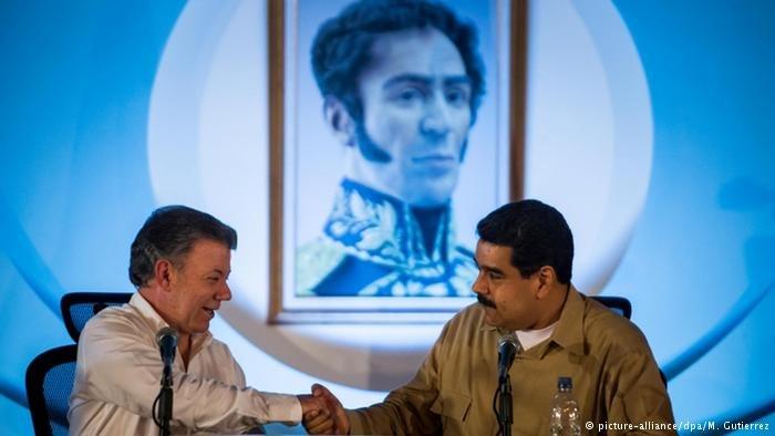 Венесуэла иКолумбия договорились оботкрытии границ