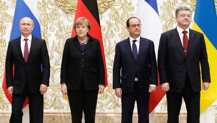 Путин примет участие всаммите «нормандской четверки» вБерлине