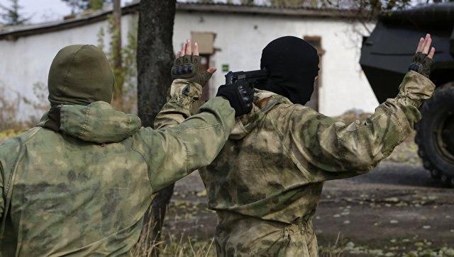 ВФСБ заявили озадержании «украинских диверсантов» вСевастополе