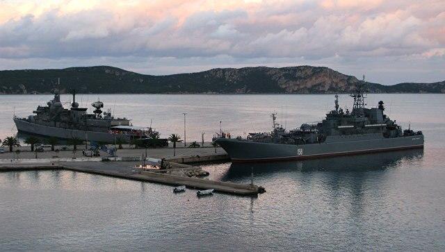 ВГреции допускают, что Обама потребует закрыть порты для кораблей изРФ