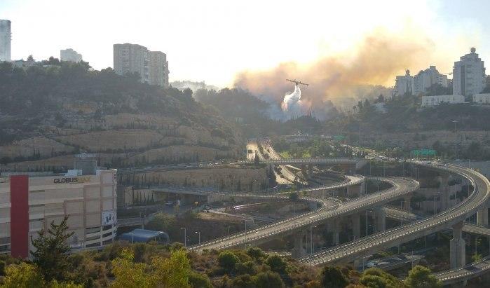 При пожарах визраильской Хайфе пострадали неменее 130 человек