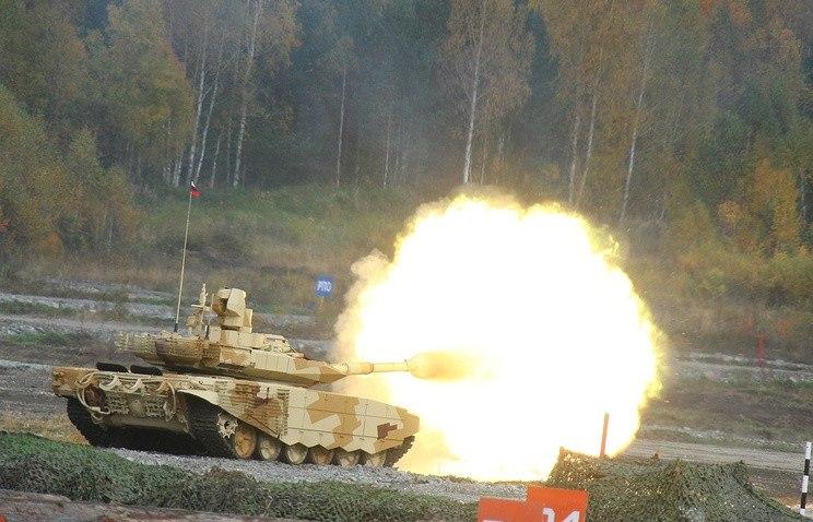 Русские танки Т-90МС будут поставляться наБлижний Восток
