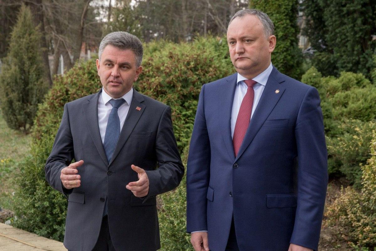 Додон подвел результаты встречи сКрасносельским