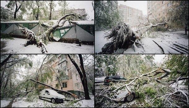 ВКишиневе оценили вред отснегопада в $3,6 млн