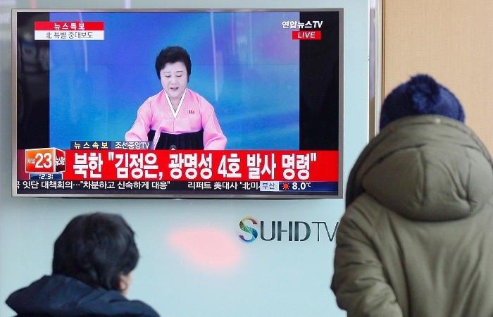 Трампу оповестили озапуске баллистической ракеты вКНДР