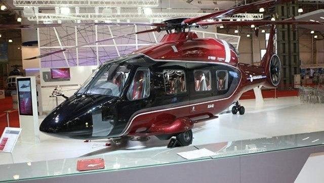 Новый вертолет Ка-62 совершил 1-ый испытательный полет