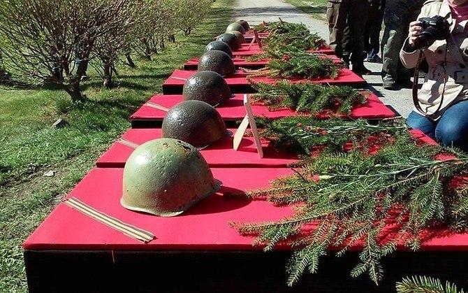 ВЭстонии собираются заново захоронить останки солдат Красной армии