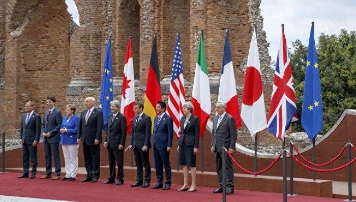 Насицилийском курорте Таормина начал работу саммит G7
