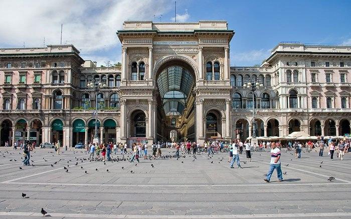 Власти Милана ввели запрет населфи-палки