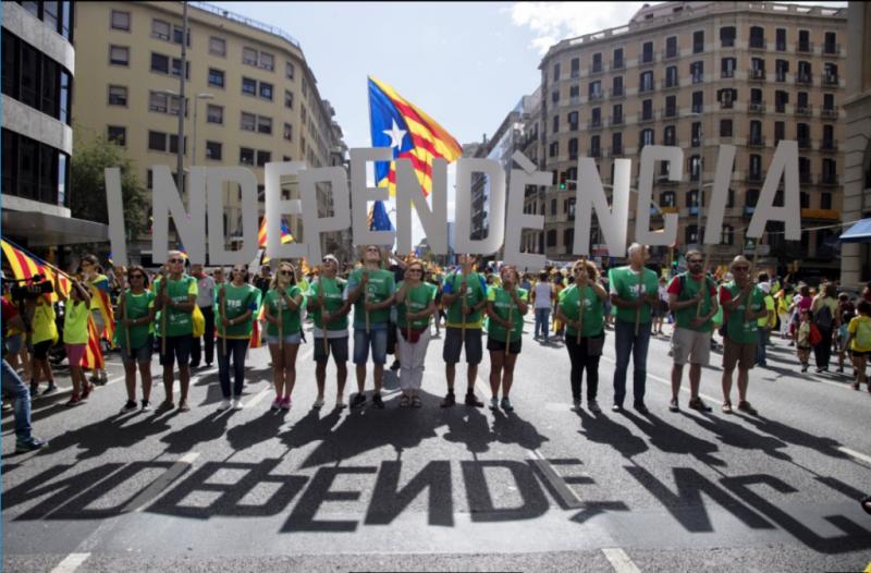 Изъято 1,3 млн. агиток— Референдум вКаталонии