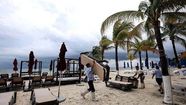 Тропический шторм «Нэйт» усилился доурагана