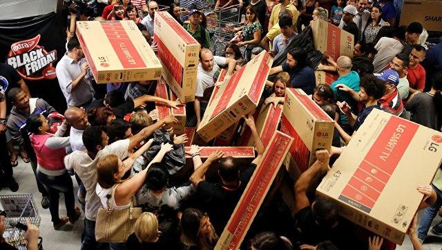 ВСША побили рекорд посумме онлайн-покупок в«черную пятницу»