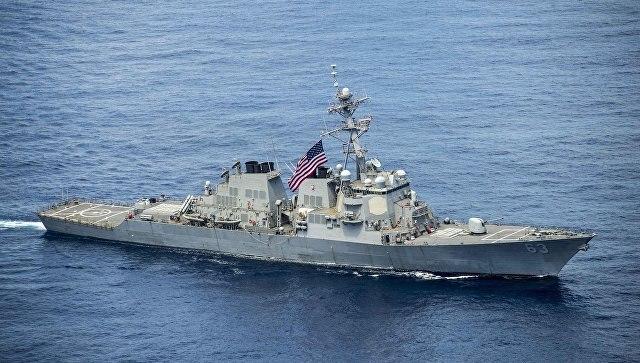 Тренировка США иУкраины вЧерном море— провокация