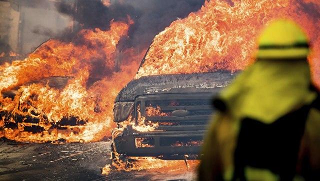 МЧС предложило помощь воперации потушению лесных пожаров вКалифорнии