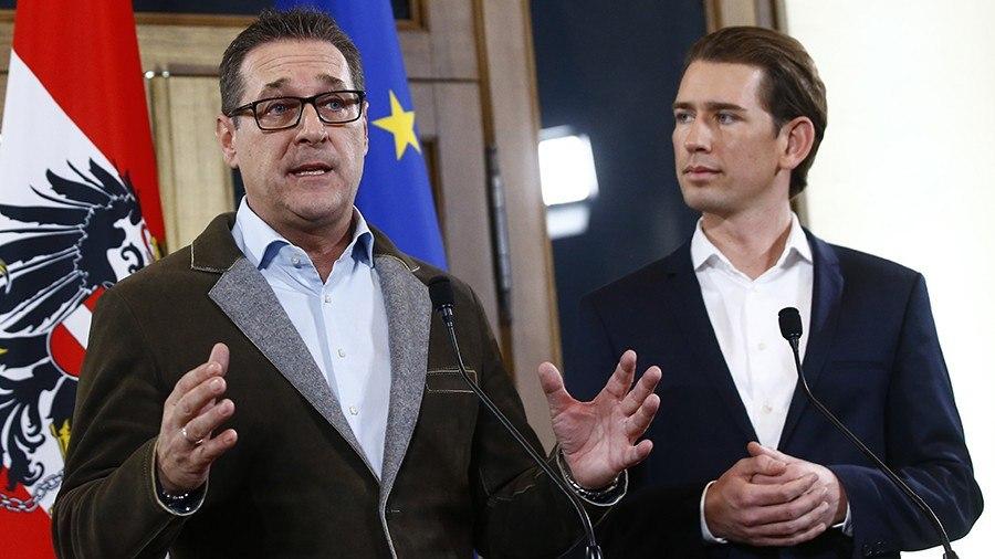 Национальная партия иПартия свободы объявили оформировании кабмина Австрии