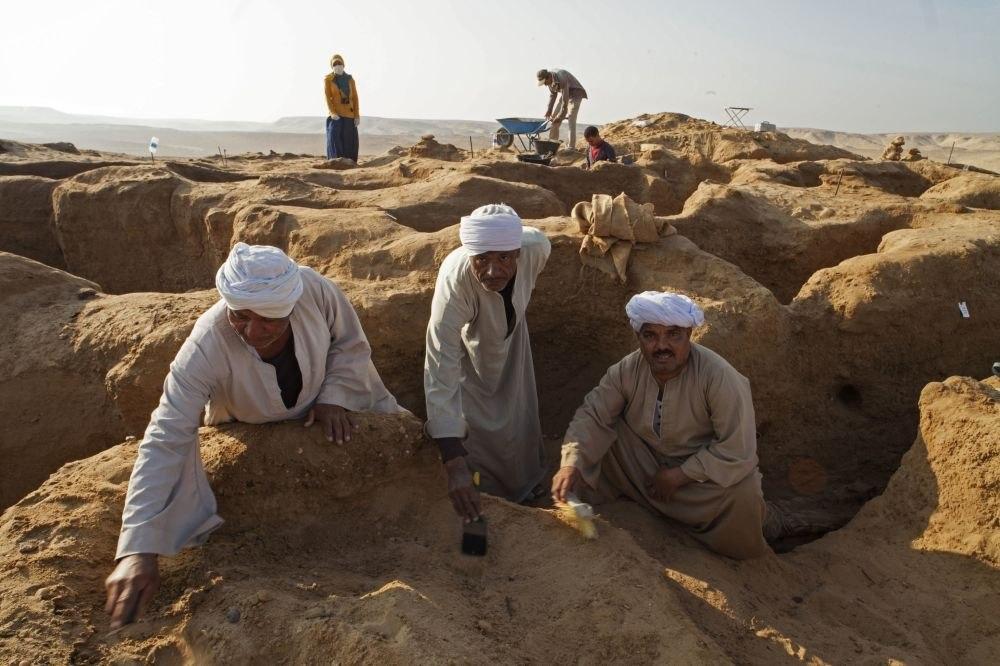 Вблизи Каира найден некрополь ссокровищами эпохи старинного Египта