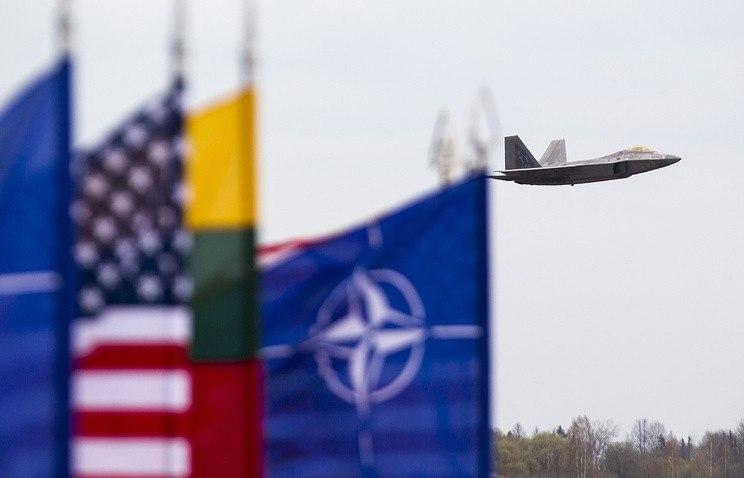 Наминувшей неделе истребители НАТО сопроводили два русских самолета