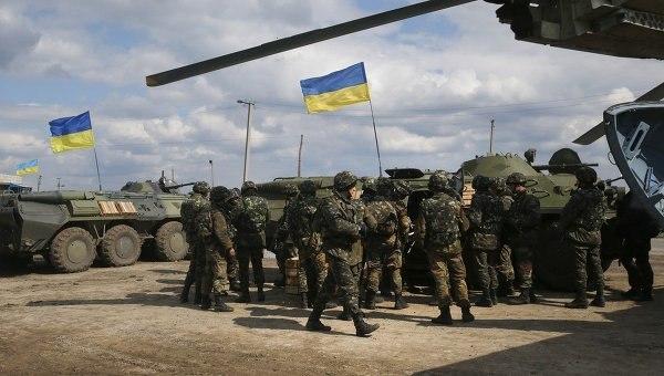 Англия продолжит тренировки украинских военных до 2018г