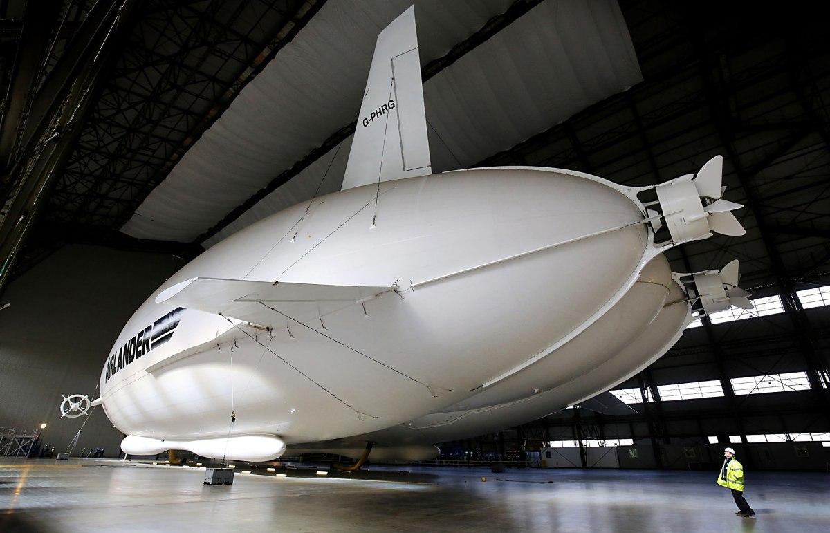 Крупнейшее вмире воздушное судно взлетело вСоединенном Королевстве Великобритании