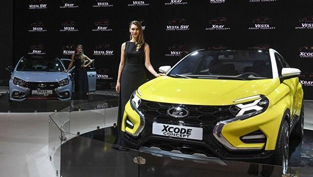 Волжский автомобильный завод запатентовал серийный дизайн кроссовера Лада Xcode