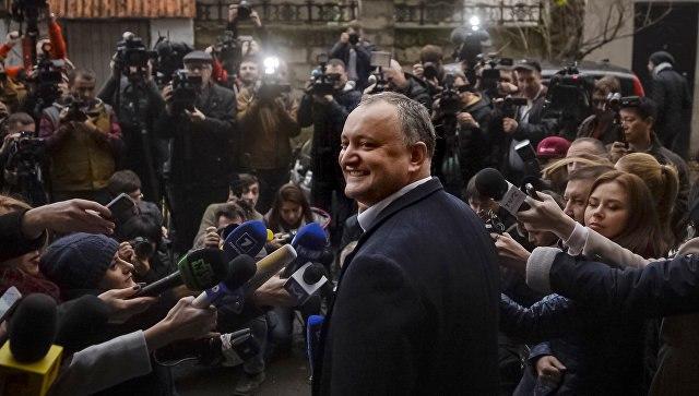ВМолдавии вступил вдолжность избранный президент Игорь Додон