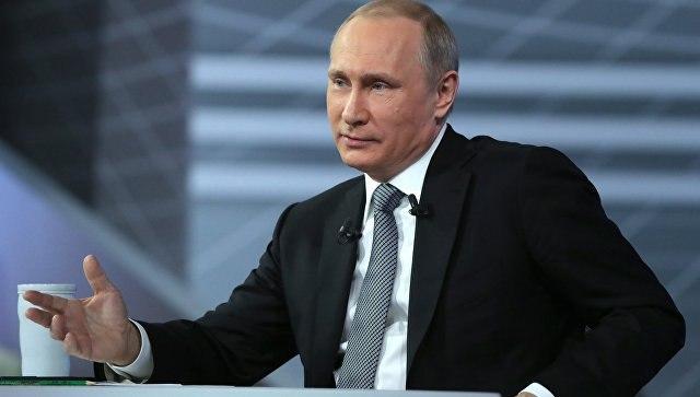 Путин проведет «Прямую линию» 15июня