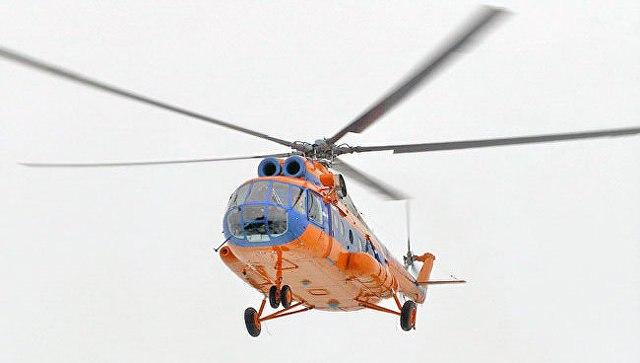 Напропавшем вАрктике вертолёте несработал радиомаяк