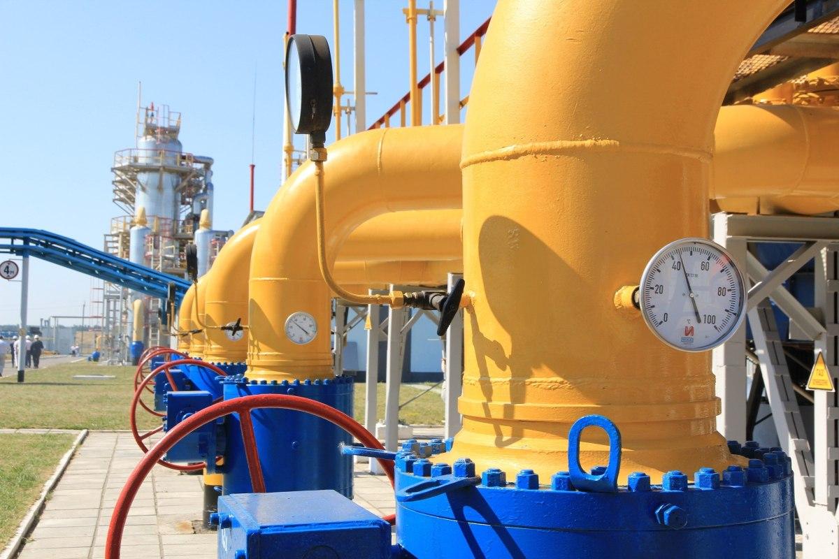 Запасы газа вПХГ Украины упали ниже 8,5 млрд кубометров