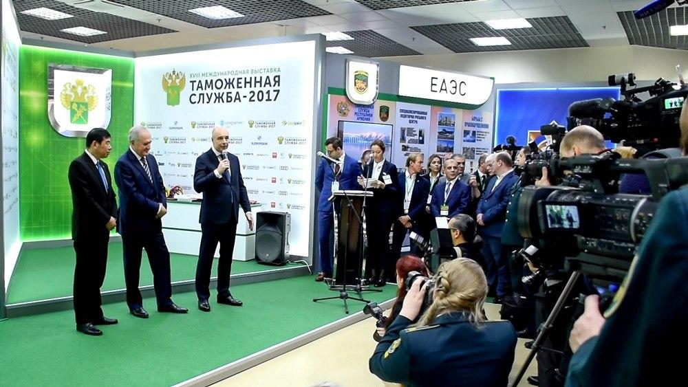 Приднестровские таможенники приняли участие в открытии  Приднестровские таможенники приняли участие в открытии Международной выставки Таможенная служба 2017