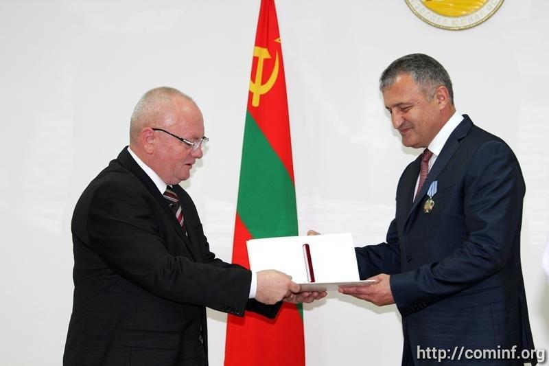Ансамбль Росгвардии наградили Орденом Дружбы Южной Осетии