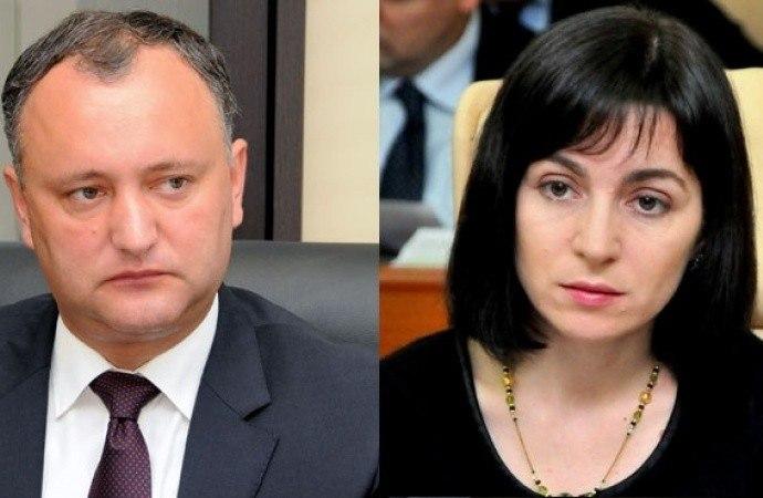 Президентские выборы вМолдове: Как проголосовали земляки Игоря Додона иМайи Санду