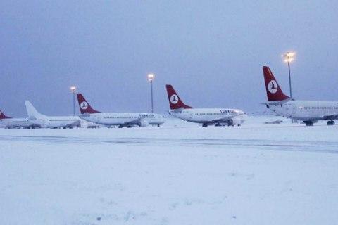 ВКиеве иХарькове отменили некоторые рейсы вСтамбул из-за непогоды